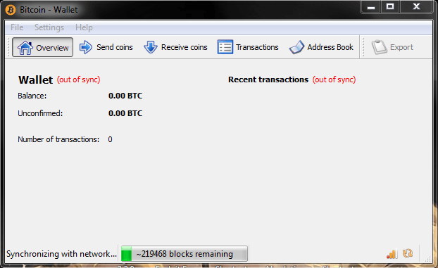 software btc wallet image