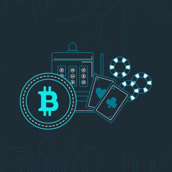 bitcoin gambling image