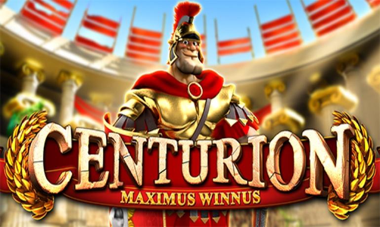 centurion slot logo