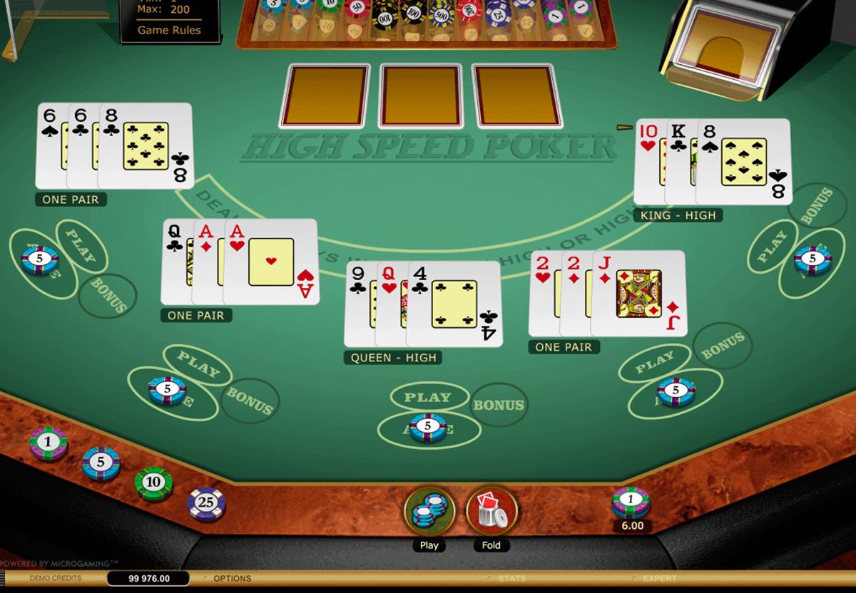 microgaming покер