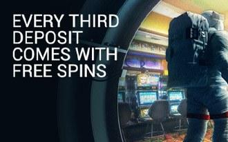 Mars Casino Free Spins Bonus