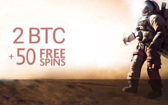 Mars Casino Welcome Bonus