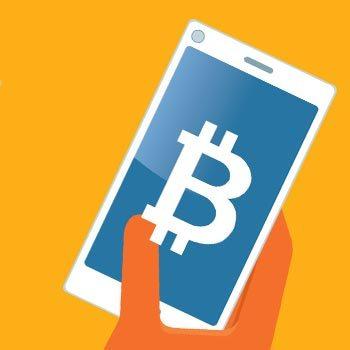 Mobile Bitcoin Casinos Illustration