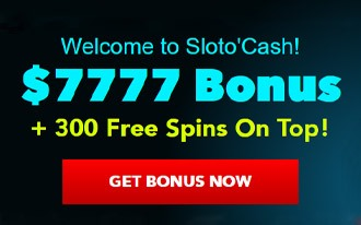 Sloto Cash Casino Welcome Bonus