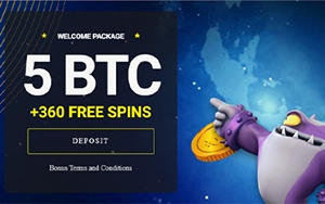 VegasCasino.io Casino Welcome Bonus